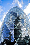 30 St Mary Axe in Londen Stock Afbeelding