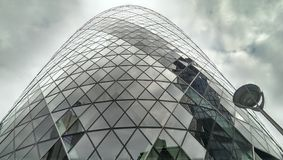30 St Mary Axe in Londen, Groot-Brittannië Stock Afbeelding
