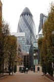St Mary Axe London Fotografia Stock Libera da Diritti