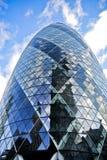 30 st Mary Axe a Londra Immagine Stock