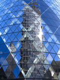 30 St Mary Axe - suisse au sujet de, Londres Images stock