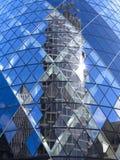 30 st Mary Axe - svizzera con riferimento a, Londra Immagini Stock