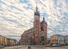St. Mary Basilica Royalty Free Stock Photo
