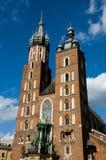 St Mary Basilica - Krakow - Poland Royalty Free Stock Photos