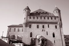 St Mary Castle, Lausanne Royalty Free Stock Photography