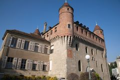 St Mary Castle in Lausanne; Switzerland Stock Image
