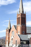 St. Mary Cathedral Architecture. St. Mary Cathedral is significant architecturally and historically as the mother church of Roman Catholicism in the Pikes Peak Stock Photography