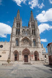 St Mary Cathedral in Burgos city Stock Image