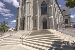 St Mary Cathedral dans le Mt Angel Oregon image libre de droits