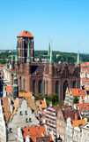 St Mary Cathedral in Gdansk, Poland Royalty Free Stock Photography