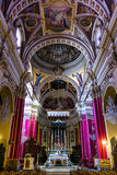 St. Mary Cathedral Gozo Stock Image