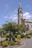 St Mary Cathedral i Mt Angel Oregon Arkivbilder