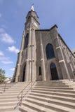 St Mary Cathedral i Mt Angel Oregon Arkivbild