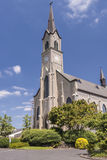 St. Mary Cathedral in Mt. Angel Oregon. stock photos