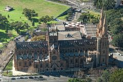 St Mary Cathedral, Sydney Royalty Free Stock Image