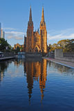 St Mary Cathedral Sydney Royalty Free Stock Image