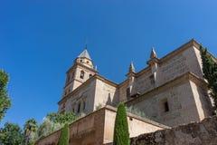 St. Mary Church Alhambra Churchs von Santa Maria de la Alh lizenzfreies stockbild