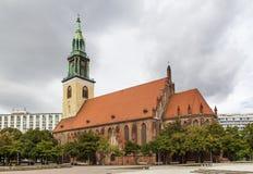 St. Mary Church, Berlin Stock Photo