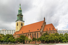 St. Mary Church, Berlin Stock Photos
