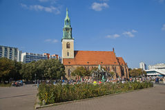 St. Mary church in Berlin Royalty Free Stock Photo