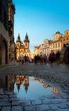 St Mary Church em Praga fotografia de stock