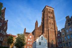 St Mary Church en Gdansk Imagen de archivo libre de regalías