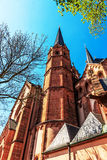 St. Mary church in Gelnhausen, Germany. Royalty Free Stock Image