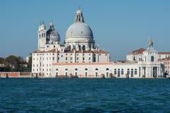St. mary church health and tip customs venice veneto italy europe Royalty Free Stock Photos