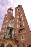 The St Mary church in Krakow in Poland Royalty Free Stock Photos