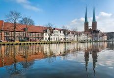 St. Mary Church, Lübeck Royalty Free Stock Photos