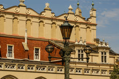 The St Mary church at the market in Krakow in Poland Royalty Free Stock Images
