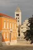 St Mary church and monastery. Zadar. Croatia. Stock Images