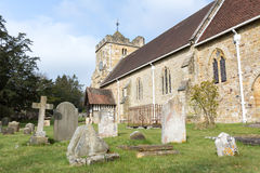 St. Mary Church in Newick Stock Image