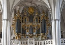 St Mary church organ Royalty Free Stock Images