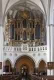 St Mary church organ Stock Photo