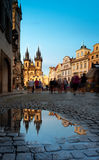 St Mary Church in Prague Stock Photography