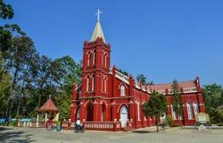 St. Mary Church in Pyin Oo Lwin stockfotografie