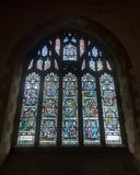 St Mary Church Stained Glass i damen Chapel royaltyfria foton