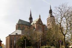 St. Mary Church, Stralsund, Deutschland lizenzfreie stockfotografie