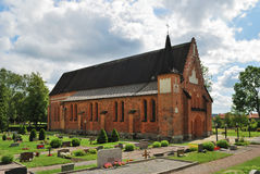 St. Mary church. Sweden Royalty Free Stock Photo