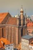 St Mary church, Torun, Kuyavia-Pomerania, Poland.  stock photography