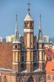 St Mary church, Torun, Kuyavia-Pomerania, Poland.  royalty free stock photography