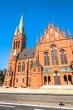 St Mary church, Torun, Kuyavia-Pomerania, Poland.  stock images
