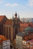 St Mary church, Torun, Poland Royalty Free Stock Photography