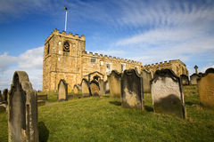 St Mary' Church Whitby North Yorkshire Royalty Free Stock Photography