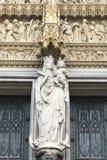 St Mary Cologn della statua Immagini Stock