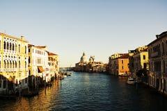 St Mary da igreja da saúde em Veneza, Itália fotografia de stock royalty free