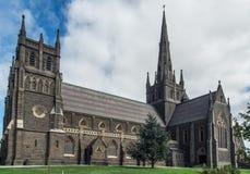 St Mary della basilica cattolica di angeli in Geelong Immagine Stock
