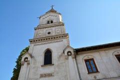 St Mary della chiesa di tolleranze o della chiesa di Baratia a Bucarest, Romania Immagini Stock