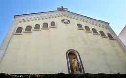 St Mary della chiesa di tolleranze o della chiesa di Baratia a Bucarest, Romania Fotografie Stock